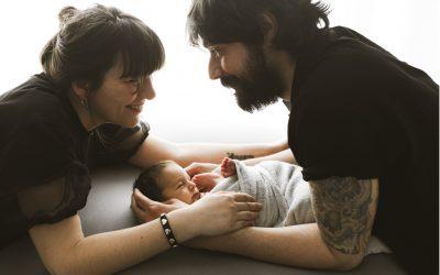 Fotografía de recién nacido (newborn) Santiago de Compostela